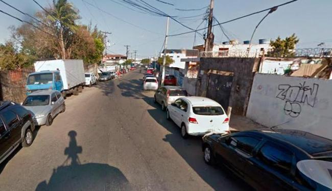 Crime aconteceu na rua Pastor José Guilherme de Moraes, em Pau da Lima - Foto: Reprodução | Google Street View