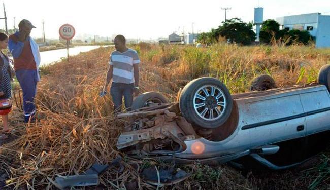 Motorista teria perdido controle do veículo em uma curva - Foto: Reprodução | Blog do Sigi Vilares