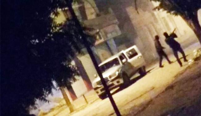 Criminosos causaram terror na cidade - Foto: Reprodução | Marinaldo Viana