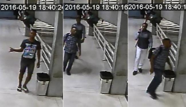 Três homens armados roubaram grupo de estudantes que estavam em uma sala de aula - Foto: Divulgação l 12ª DT