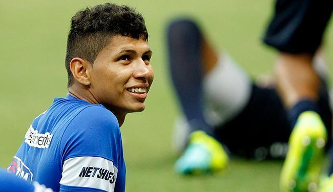 Atacante Jeam é um dos atletas que vai integrar o elenco do Ypiranga - Foto: Felipe Oliveira | E.C.Bahia