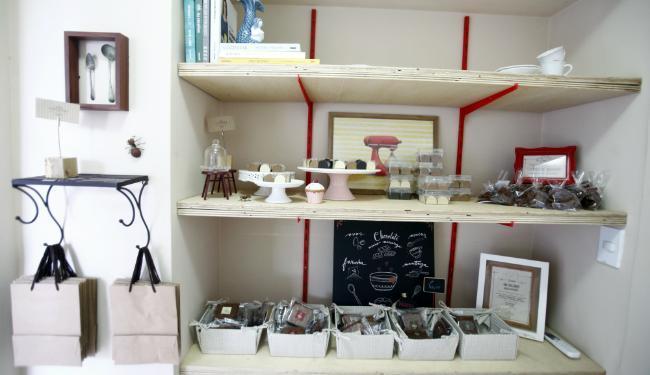 Um dos destaques da loja é o brigadeiro de churros e os tradicionais brownies - Foto: Lúcio Távora | Ag. A TARDE