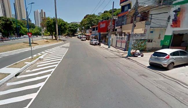 Crime aconteceu na avenida Vasco da Gama, na noite desta terça - Foto: Reprodução | Google Street View