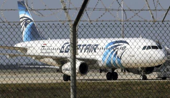 Avião da EgyptAir que voava de Paris para o Cairo com 66 passageiros a bordo - Foto: Agência Reuters