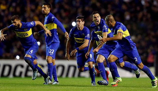 O time argentino não conseguia chegar a uma semifinal de Libertadores desde 2012 - Foto: Marcos Brindicci l Reuters