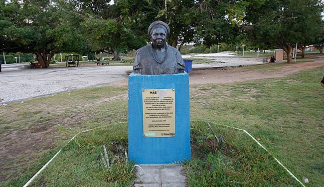 Monumento localizado no Abaeté foi atacado nesta quarta-feira, 4 - Foto: Margarida Neide l Ag. A TARDE