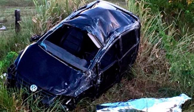 O motorista chegou a ser arremessado para fora do veículo - Foto: Reprodução   Site Radar 64