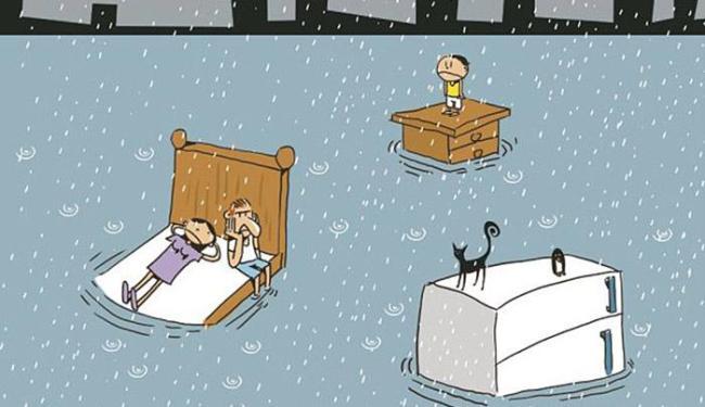Com o período de chuvas, é melhor começar a pensar em se prevenir - Foto: Editoria de Arte A TARDE