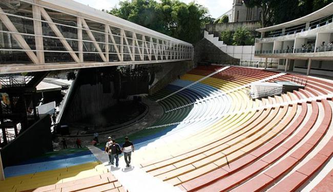 Espaço ganhou estruturas modernas para abrigar público de 5 mil pessoas - Foto: Luciano da Matta l Ag. A TARDE