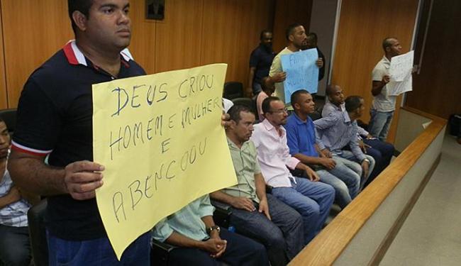 Favoráveis à proposta do deputado Isidório defendem a dita família tradicional - Foto: Divulgação l Ascom Sargento Isidório