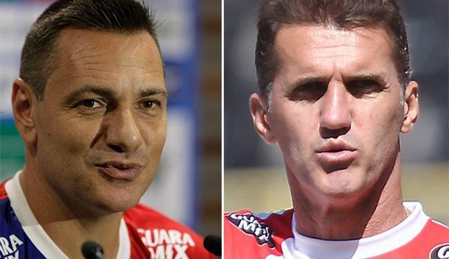Os técnicos não revelaram os times que entram em campo neste domingo - Foto: Joá Souza e Eduardo Martins | Ag. A TARDE