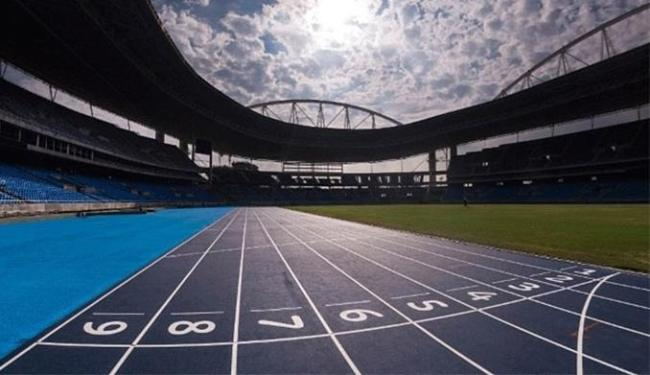 Engenhão está pronto para a Olimpíada - Foto: Divulgação