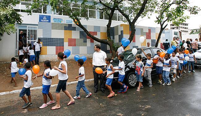 Bairro Parque São Cristóvão foi um dos contemplados - Foto: Luciano da Matta l Ag. A TARDE