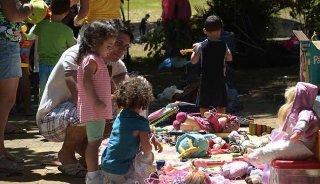 Evento dá a chance de experimentação de novas brincadeiras em espaços abertos - Foto: Reprodução   Facebook