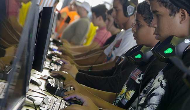Arena de jogos no Gamepólitan na edição do ano passado - Foto: Divulgação