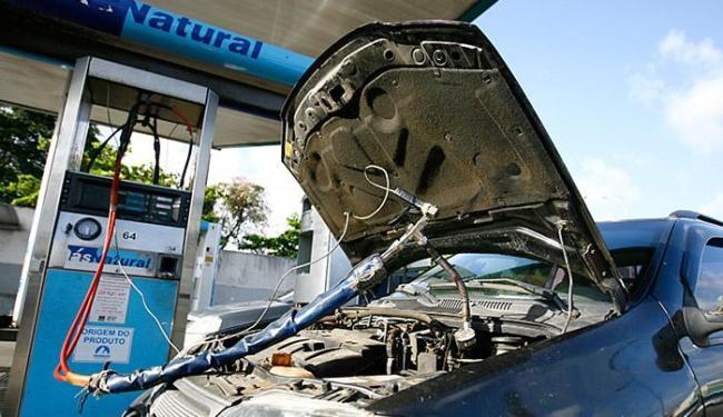 No estado, o GNV é 52% mais econômico que a gasolina - Foto: Joá Souza l Ag. A TARDE l 10.10.2014