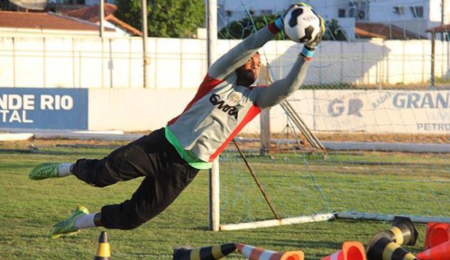 Cancão de Fogo do goleiro Tigre tenta surpreender fora de casa - Foto: Look Assessoria l Divulgação