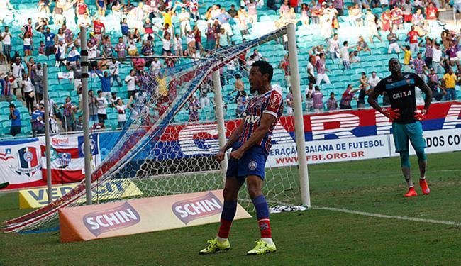 Hernane marcou 11 gols em 13 jogos nesta temporada - Foto: Margarida Neide l Ag. A TARDE