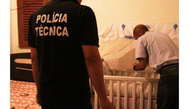 Um bebê de um mês foi assassinado com uma facada em Itapetinga - Foto: Itapetinga Repórter / Divulgação
