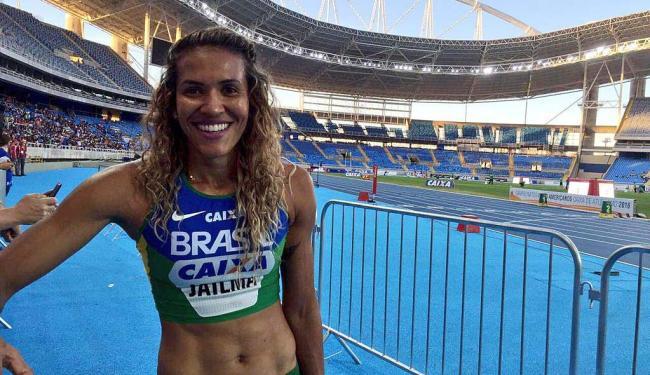 Com 51s99, Jailma Lima fez o índice nos 400m rasos. - Foto: Divulgação   Brasil 2016