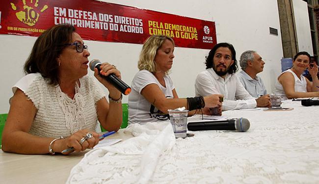 Os dois parlamentares se posicionaram a favor de novas eleições presidenciais - Foto: Adilton Venegeroles   Ag. A TARDE