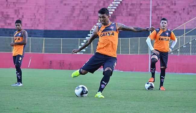 Kieza tem sido o destaque do elenco rubro-negro no Brasileirão - Foto: Francisco Galvão l EC Vitória l Divulgação
