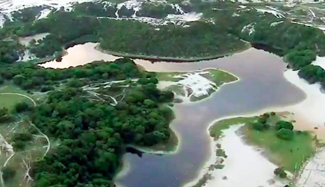 Homem desapareceu após entrar na Lagoa do Abaeté na manhã de domingo - Foto: Reprodução | Rede Bahia