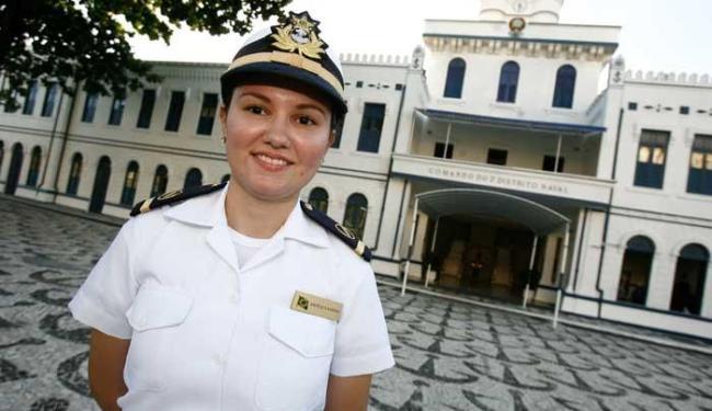 Angélica Martins estudou por três anos antes de ser aprovada na Marinha - Foto: Mila Cordeiro   Ag. A TARDE