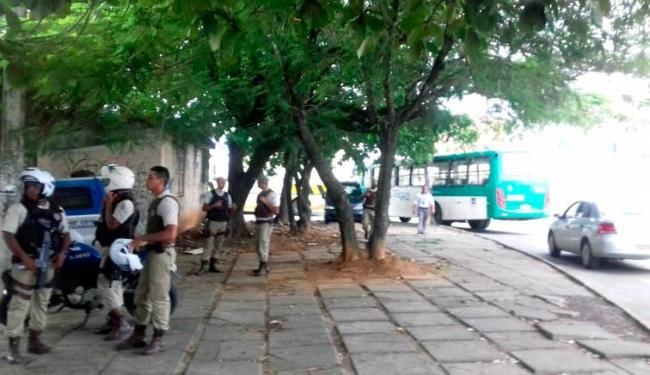 Ônibus voltaram a circular na Mata Escura na manhã desta segunda-feira - Foto: Divulgação | Sindicato dos Rodoviários