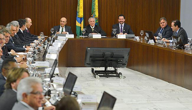 Anúncio das medidas foi feito por Temer a lideranças do Congresso - Foto: José Cruz l Ag. Brasil