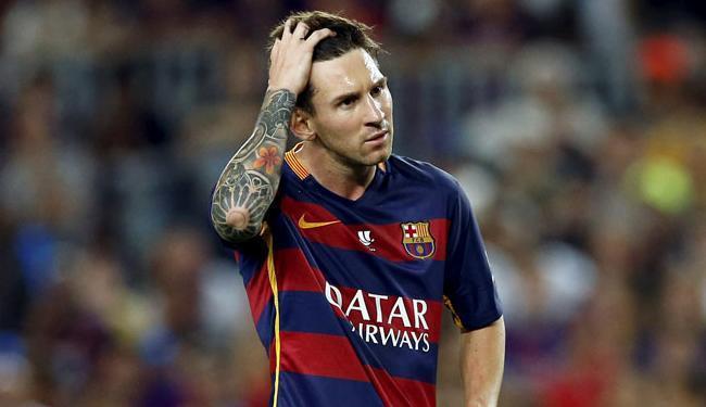 O principal acusado no caso é seu pai, Jorge Horacio Messi, mas o jogador também foi acionado - Foto: Albert Gea | Ag. Reuters