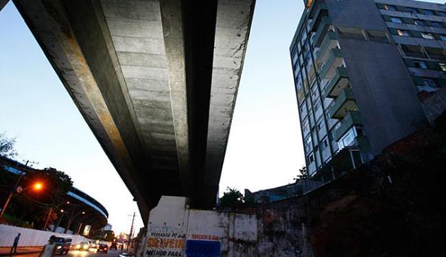 A construção da 1º etapa do metrô também exigiu a desapropriação de imóveis na região de Nazaré - Foto: Fernando Vivas l Ag. A TARDE l 12.5.2010