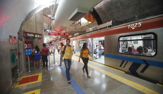 Novos trens serão testados no domingo - Foto: Xando Pereira   Ag. A TARDE