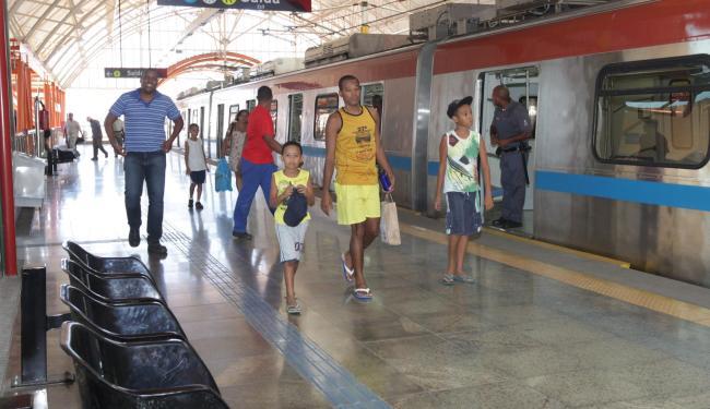 Metrô de Salvador contará com cinco novos trens em operação - Foto: Amanda Oliveira/GOVBA / Divulgação