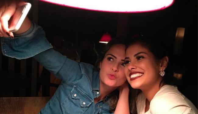 Ana Paula e Munik tiraram várias fotos para fãs e seguidores - Foto: Reprodução | Instagram