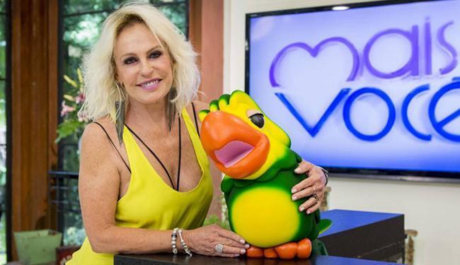 Apresentadora ficou sem graça após cometer gafe - Foto: Reprodução   TV Globo