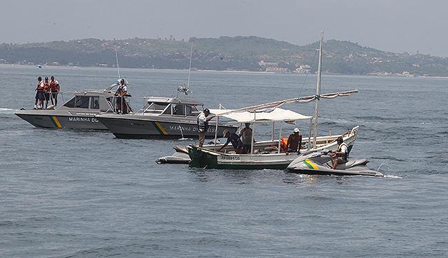 Pescador saiu na manhã de domingo para pescar, mas ainda não foi localizado - Foto: Lucio Tavora | Ag. A TARDE