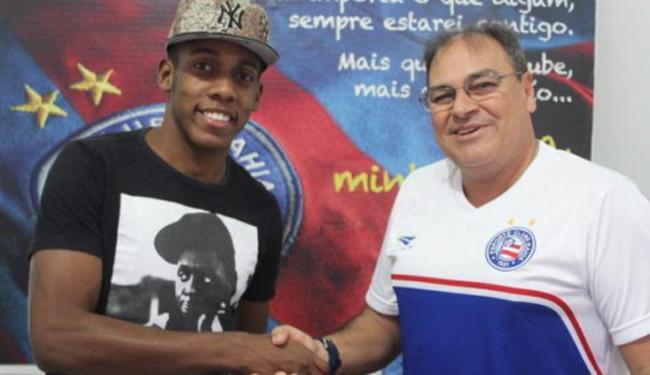 O lateral defende o Bahia desde fevereiro e é autor de 3 assistências para gol na temporada - Foto: Divulgação | E.C.Bahia