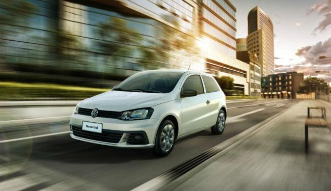 Volkswagen Gol duas portas - Foto: Divulgação