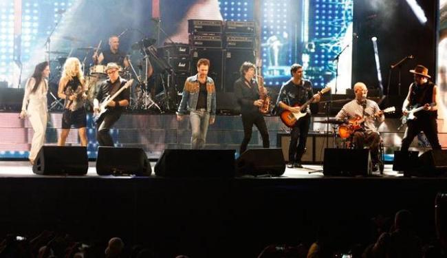 Nivea Rock levou ao público grandes clássicos do rock nacional - Foto: Edilson Lima | Ag. A TARDE