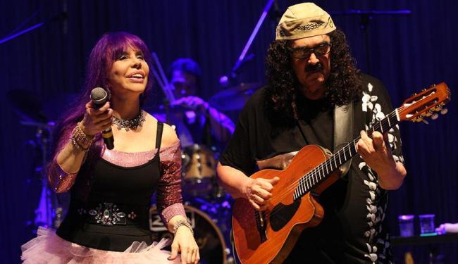 Turma dos Novos Baianos presenteou os fãs com canções de Dorival Caymmi e João Gilberto - Foto: Margarida Neide   Ag. A TARDE
