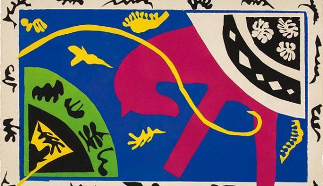 O Cavalo, uma das obras de Matisse que fazem parte da exposição na Caixa Cultural Salvador - Foto: Acervo Museus Castro Maya RJ l Divulgação