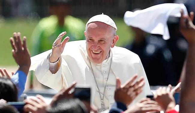 O Papa recebeu o título de cidadão honorário do Município de São Paulo e a Medalha Anchieta - Foto: Edgard Garrido   Reuters   15.02.2016