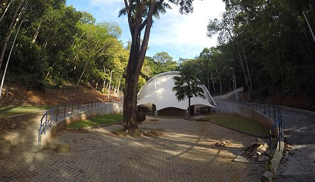 Anfiteatro Dorival Caymmi recebe melhoramentos - Foto: Mila Cordeiro l Ag. A TARDE
