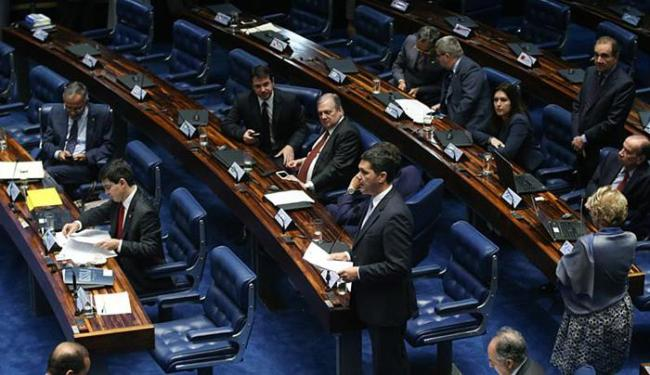 A previsão é que cada senador fale por 15 minutos - Foto: Fabio Rodrigues Pozzebom l Agência Brasil)