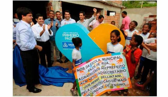 Prefeitura anuncia a construção de duas novas creches em Piatã e Bairro da Paz - Foto: Agecom / Divulgação