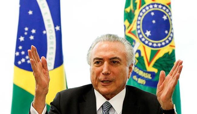Na nota, Temer fez questão de elogiar a competência de Jucá - Foto: Marcelo Camargo | Agência Brasil