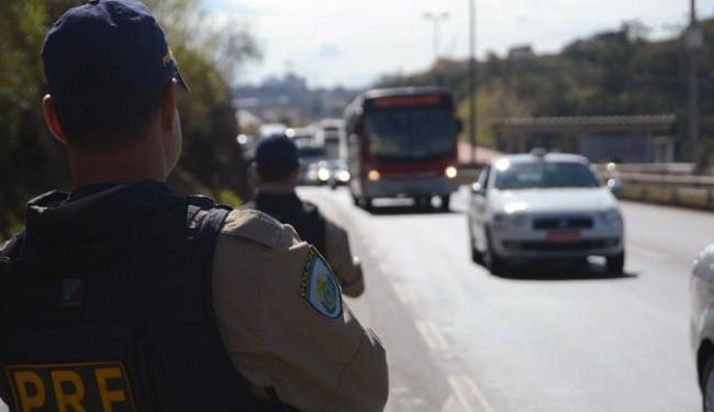 Nas rodovias federais, o policiamento será feito pela Polícia Rodoviária Federal (PRF) - Foto: Divulgação | Polícia Rodoviária Federal