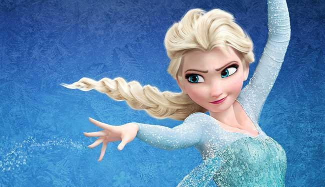 Princesa Elsa do filme Frozen-Uma Aventura Congelante - Foto: Divulgação