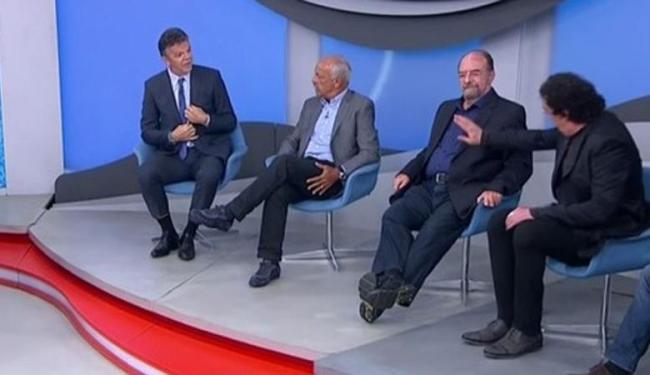 Motivo da discussão foi o desempenho do Brasil contra o Paraguai, em março, pelas Eliminatórias - Foto: Reprodução   Sport TV